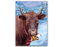 Bull-ievable Holiday Cards